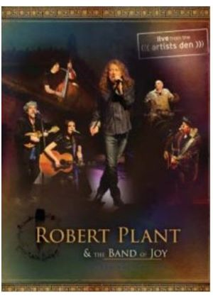 Robert Plant -  Robert Plant+ The Band Of Joy: Live From The Artist's Den (Blu Ray)
