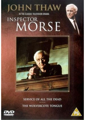 Inspector Morse - Pack 2 - Service Of All The Dead / Wolvercote Tongue (Two Discs)