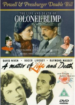 Life And Death of Colonel Blimp, The / A Matter Of Life And Death (Two Discs)