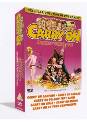 Carry On - Digi Stack 3 (Includes - Carry On Camping, Carry On At Your Convenience + others)