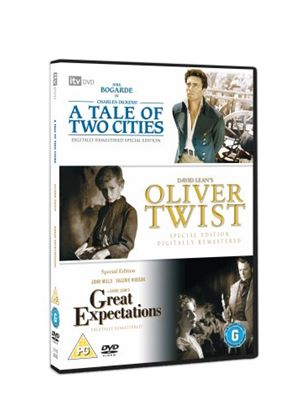 Classic Films Triple - Great Expectations / Oliver Twist / A Tale Of Two Cities