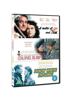 Classic Films Triple - The Life And Death Of Colonel Blimp / A Matter Of Life And Death / I Know Where I'm Going
