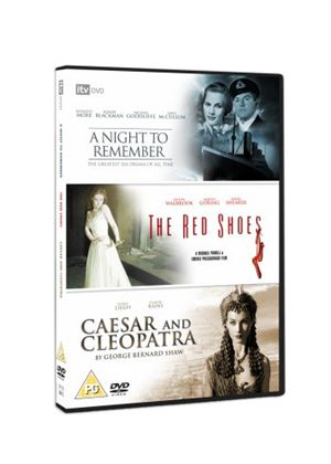 Classic Films Triple - A Night To Remember / Caesar And Cleopatra / The Red Shoes