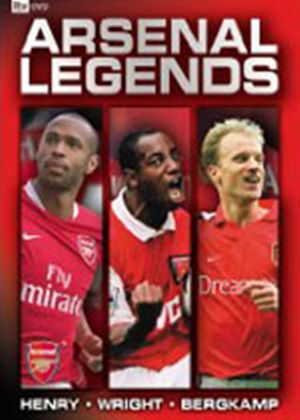 Arsenal Legends Boxset - Henry / Wright / Bergkamp
