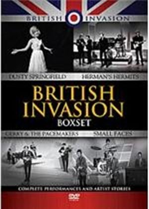 British Invasion Box Set - Small Faces / Herman's Hermits / Dusty Springfield / Gerry And The Pacemakers