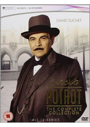 Agatha Christie's Poirot - Complete Collection (32 Discs)