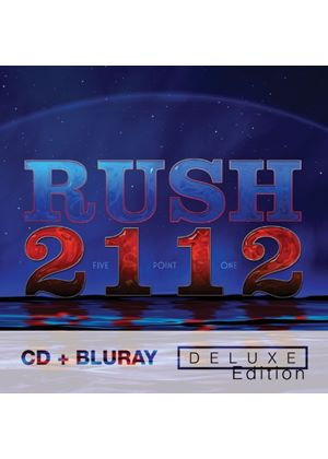 Rush - 2112 - (Deluxe Edition CD & Blu Ray) (Music CD)