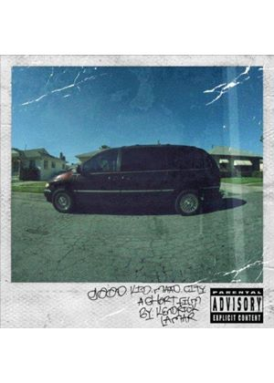 Kendrick Lamar - Good Kid, M.A.A.D City (Music CD)