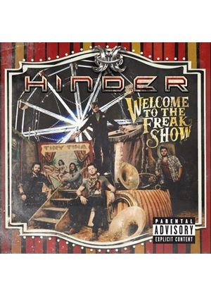 Hinder - Welcome To The Freakshow (Music CD)