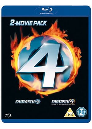 Fantastic Four / Fantastic Four - The Rise Of The Silver Surfer (Blu-Ray)