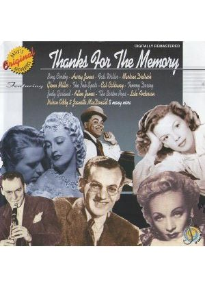 Various Artists - Thanks for the Memory (Crosby, Dietrich, Miller et al) (Music CD)