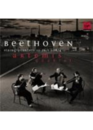 Beethoven: String Quartets Op.59/2 and Op.18/4 (Music CD)
