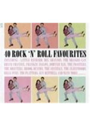 Various Artists - 40 Rock N Roll Favourites (Music CD)