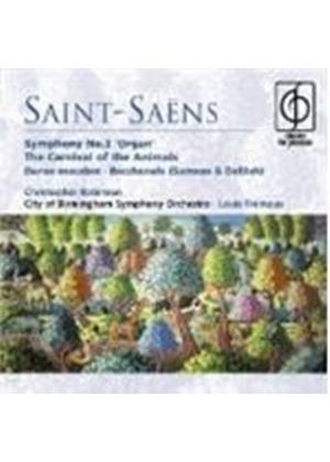 Saint-Saëns: Carnival of the Animals; Symphony No 3