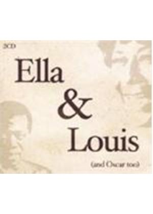 Fitzgerald/Armstrong/Peterson - Ella And Louis (And Oscar Too) (Music CD)