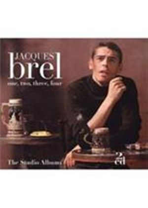 Jacques Brel - 1 2 3 4 (Music CD)