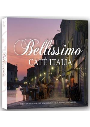 Various Artists - Bellissimo Cafe Italia (Music CD)