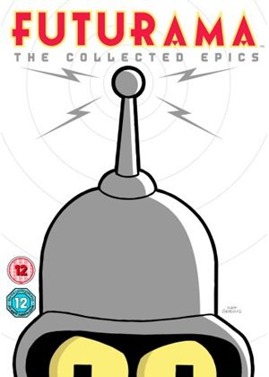 Futurama: The Collected Epics -  Bender's Big Score / The Beast With A Billion Backs / Bender's Game/ Into Wild Green Yonder