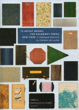 75 Artist Books Kaldeway Press New York