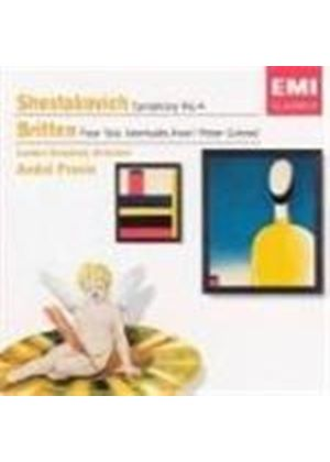 Shostakovich: Symphony No 4; Britten: (4) Sea Interludes