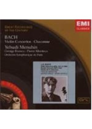 Johann Sebastian Bach - Violin Concertos/Chaconne (Menuhin, Paris So) (Music CD)