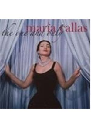 Maria Callas - The One And Only (Music CD)