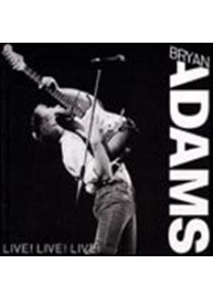 Bryan Adams - Live Live Live (Music CD)