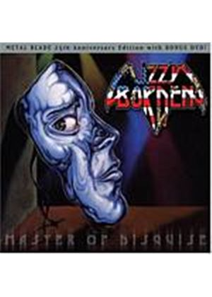 Lizzy Borden - Master Of Disguise: 25th Anniversary Edition [CD + 2DVD] (Music CD)