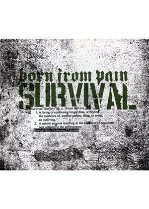 Born From Pain - Survival (Music CD)
