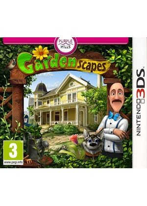 Gardenscapes (Nintendo 3DS)