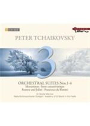 Tchaikovsky: Orchestral Suites Nos.1-4 (Music CD)
