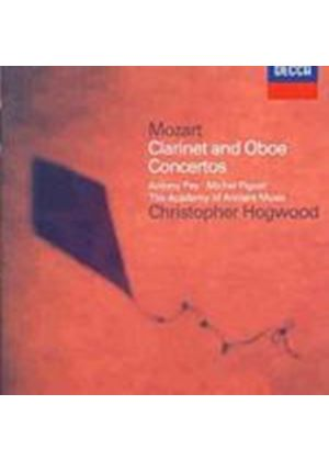 Wolfgang Amadeus Mozart - Clarinet Concerto/Oboe Concerto (Pay/Piguet/Hogwood) (Music CD)