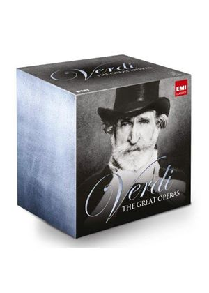 Verdi: The Great Operas (Music CD)