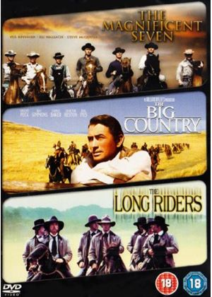 Western Classics Triple - The Magnificent Seven/ The Big Country/ The Long Riders