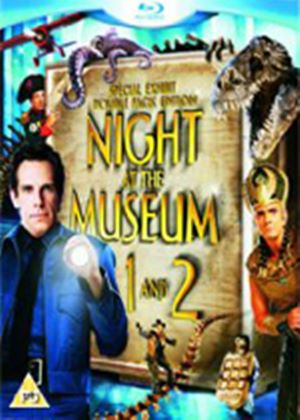 Night At The Museum / Night At The Museum 2 - Battle Of The Smithsonian (Blu-Ray)