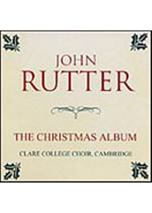 John Rutter - Christmas Album (Clare College Choir, Cambridge) (Music CD)