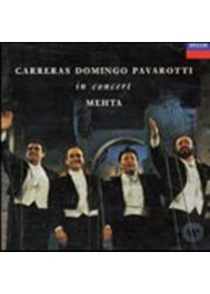 Carreras/Domingo/Pavarotti - The Three Tenors In Concert (Music CD)