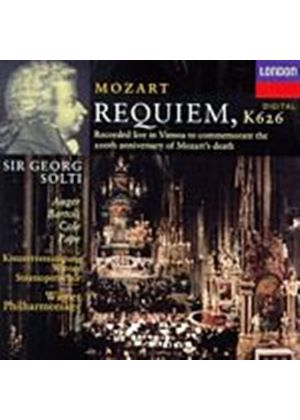 Wolfgang Amadeus Mozart - Requiem (VPO/Solti) (Music CD)
