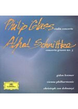 Philip Glass - Violin Concerto (Kremer/VPO Von Donhnanyi) (Music CD)