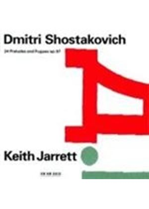 Dmitri Shostakovich - 24 Preludes And Fugues (Keith Jarrett) (Music CD)