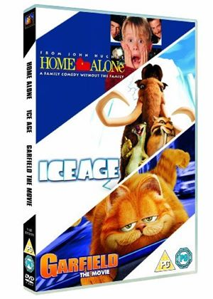 Home Alone Ice Age Garfield Dvd