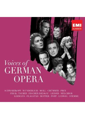 Voices of German Opera (Music CD)