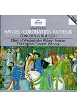 George Frideric Handel - Coronation Anthems (Ec/Preston/Pinnock) (Music CD)