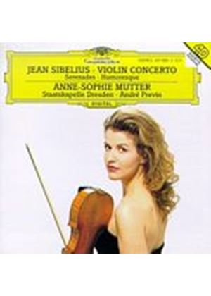 Jean Sibelius - Violin Concerto (Mutter/Staatskapelle Dresden/Previn) (Music CD)