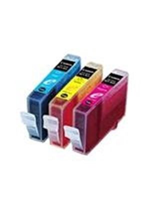 Canon BCI 3E Color Multipack - Ink tank - 1 x yellow, cyan, magenta