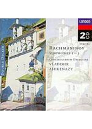 Sergey Rachmaninov - Symphonies 1, 2 And 3 (Concertgebouw/Ashkenazy) (Music CD)