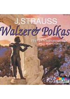 Strauss Family - Waltzes And Polkas (VPO/Boskovsky) (Music CD)