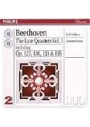 Beethoven: Late String Quartets, Vol.1