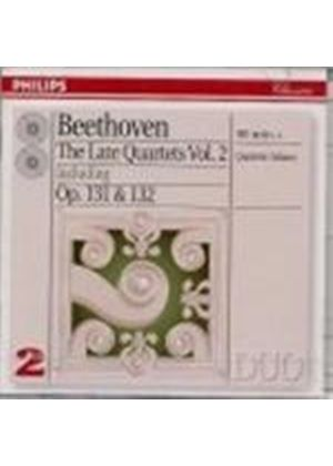 Beethoven: Late String Quartets, Vol.2