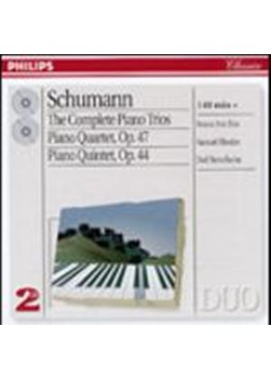 Robert Schumann - Complete Piano Trios/Beaux Arts (Music CD)
